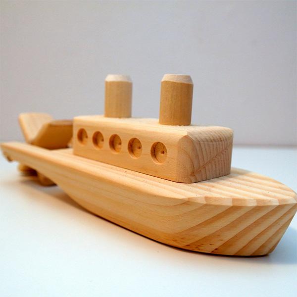 Корабли из дерева для детей своими руками 384